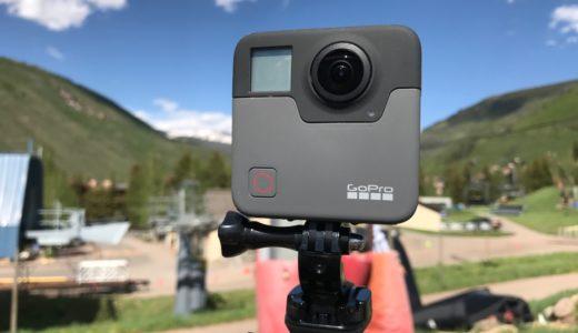 GoProの360度カメラfusionが身に着けた三種の神器&他にない魅力+α