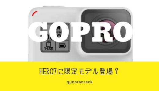 限定版Gopro 7 black DUSKWHITEって何?お得なボックスとは!